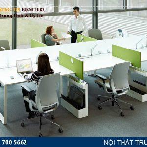 Cụm bàn làm việc văn phòng 6 người VNK03
