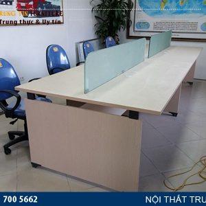 cụm bàn làm việc dành cho 8 người VNK12