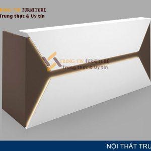 Quầy lễ tân Trung Tín QLT23