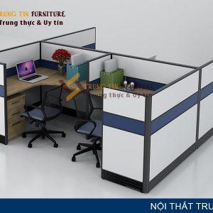 Vách ngăn văn phòng Trung Tín VN04