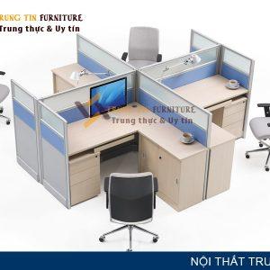 Vách ngăn văn phòng Trung Tín VN21